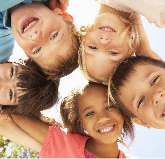 Enfants en rond Association St Vincent de Paul